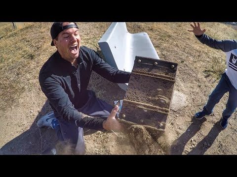WE FOUND A REAL BURIED TREASURE CHEST! MOST EPIC TREASURE HU