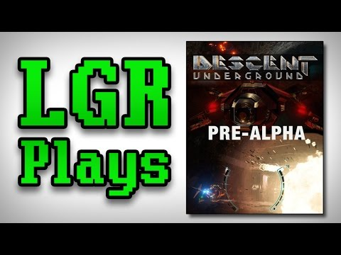 LGR Plays - Descent: Underground [Pre-Alpha]
