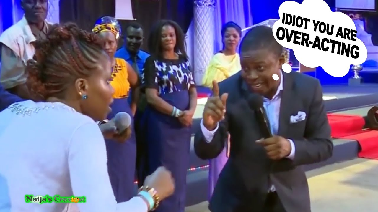 Download Prophet Bushiri Paid Actress Ruins Staged Deliverance Scene