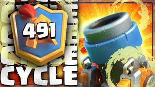 TOP LADDER w/ FREE TO PLAY MORTAR CYCLE || 🏆6000+ Ladder Deck for Season 13!