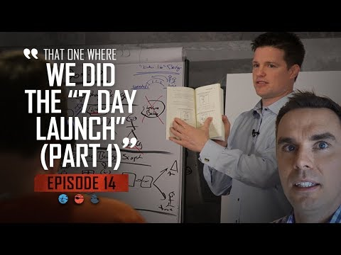 """That one where we did the """"7 Day Launch"""" (Part 1) Funnel Hacker TV - Episode 14"""