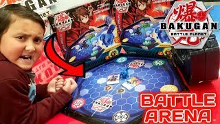 BAKUGAN BATTLE PLANET NEW BATTLE ARENA UNBOXING! EXCLUSIVE BAKUGAN & CARDS INCLUDED!