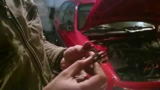Замена петель водительской двери, также новая решотка радиатора
