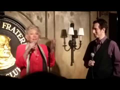 Marilyn Michaels with Mark Wilks at Friars Club PT1