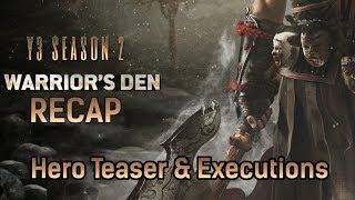 Who is Ryoshi? - New Executions - Samurai Hero Teaser - Warrior's Den Recap 4/18/19