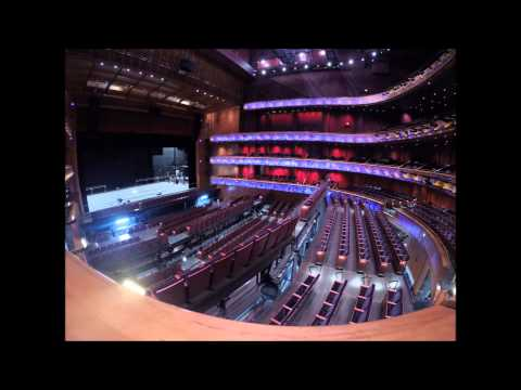 Tobin Center for the Performing Arts - Floor transformation