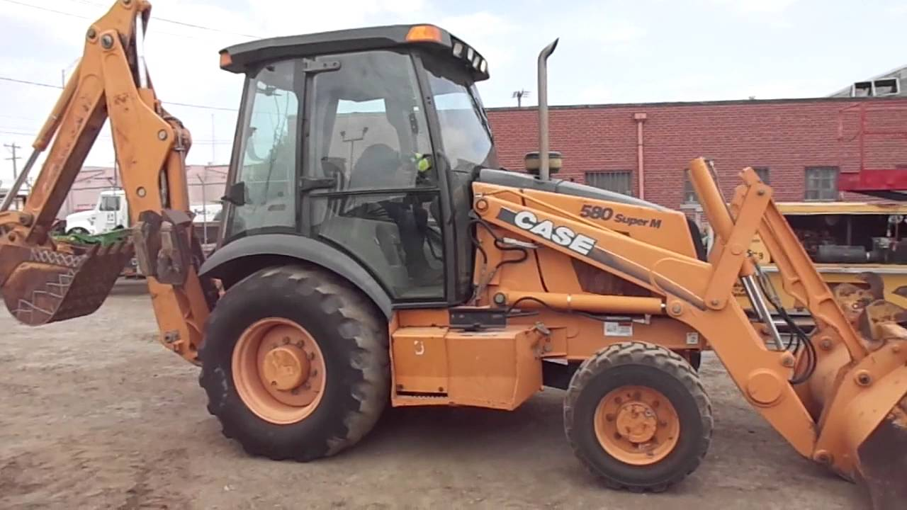 2002 case 580 super m backhoe for sale [ 1280 x 720 Pixel ]