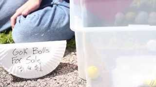 How to Make Money as a Kid- Selling Golf Balls
