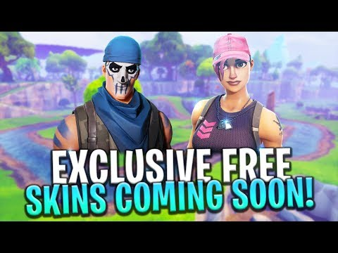 Download Youtube: Two FREE EXCLUSIVE SKINS Coming Soon! - Fortnite: Battle Royale