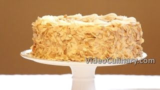 Mousse Cake - White Chocolate & Caramel - Video Culinary