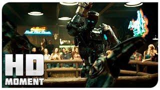 Атома пригласили выступать в лигу - Живая сталь (2011) - Момент из фильма