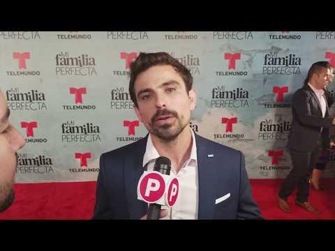 Mi Familia Perfecta red carpet  Jorge Luis Moreno