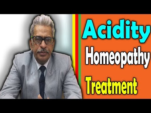 Acidity in English – Causes, Symptoms and Remedy in Homeopathy