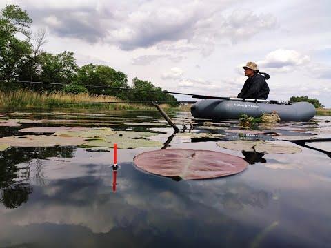 Ловля карася с лодки. Открытие сезона Май, 2020. Рыбалка на поплавок.