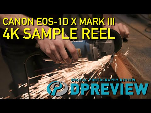 4K sample reel: The Canon EOS-1D X Mark III goes to the blacksmith