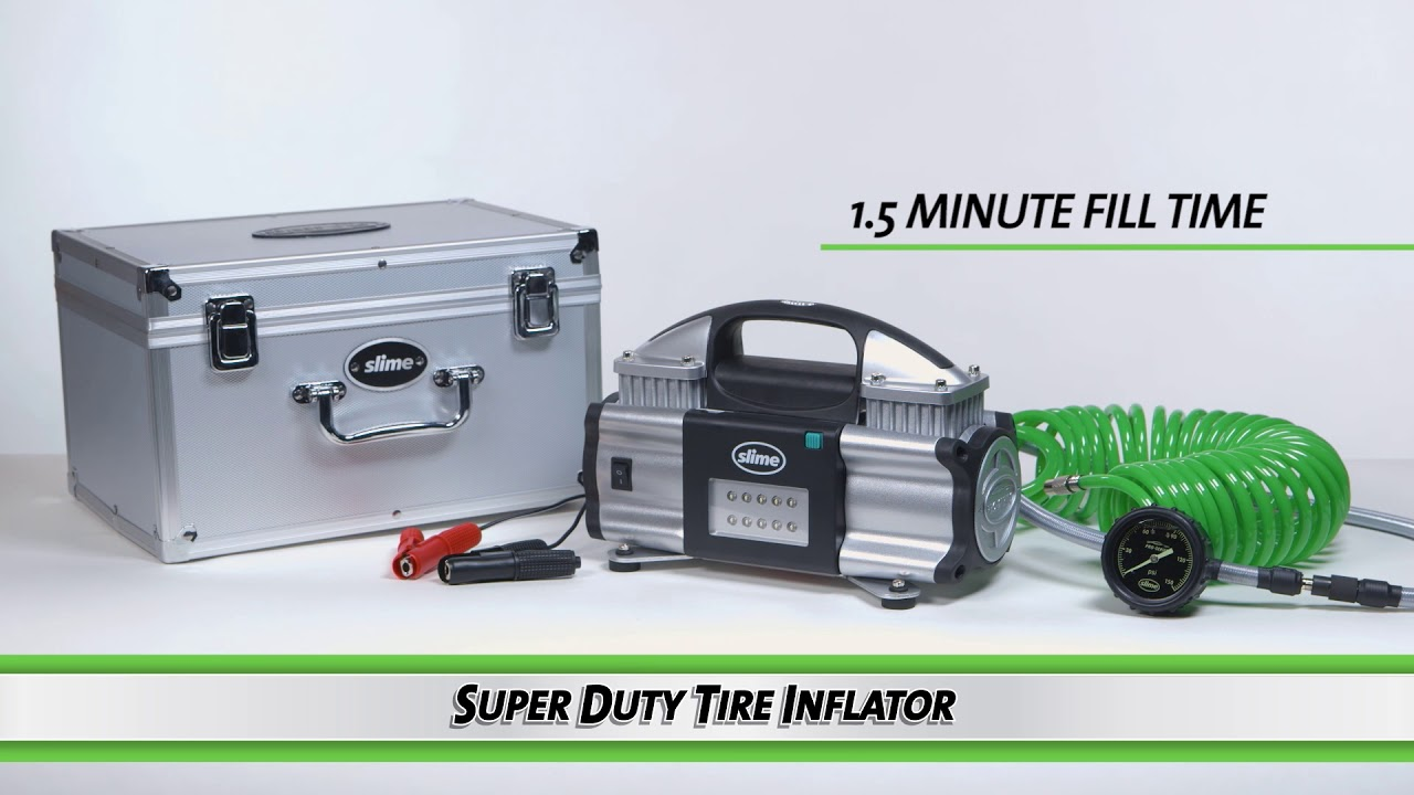 Slime's Pro-Series Super Duty Tire Inflator #40048 - YouTube