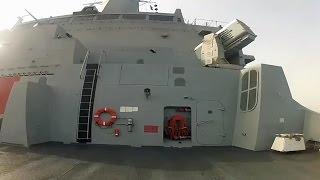 ステルス揚陸艦の艦内お散歩 サン・アントニオ級 - San Antonio-class Walk GoPro