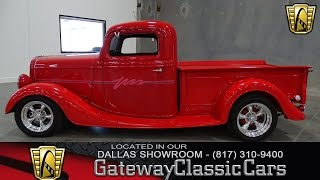 Stock #196 1935 Ford Truck Streetrod Gateway Classic Cars of Dallas