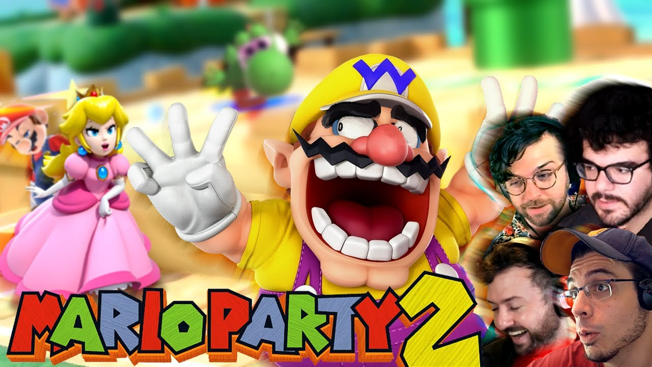 THE MARIO PARTY TOURNAMENT CONTINUES! (Mario Party 2 w/ Chilled, Ze, Ray, & Platy)