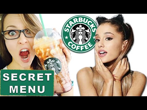 Starbucks SECRET MENU you need to try | Ariana Grande