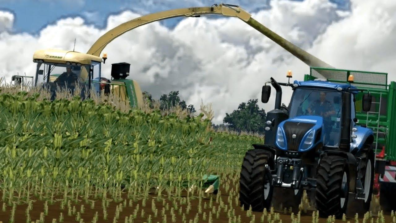☆ Kiszonka - Mais Silage ☆ Krone ㋡ Farming Simulator 15