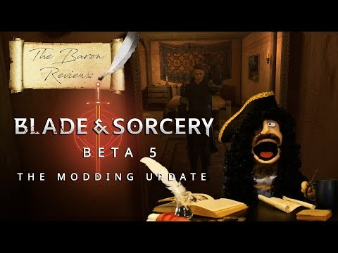 The Baron Reviews | Blade and Sorcery - Beta 5 The Modding Update