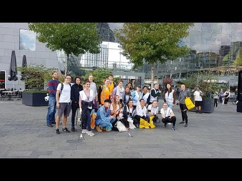 World Clean Up Day in Rotterdam