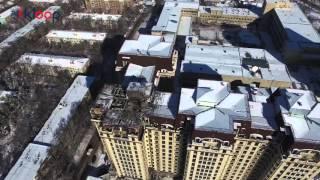 Вид с высоты Последствия пожара на ЭлебаеваКулатова