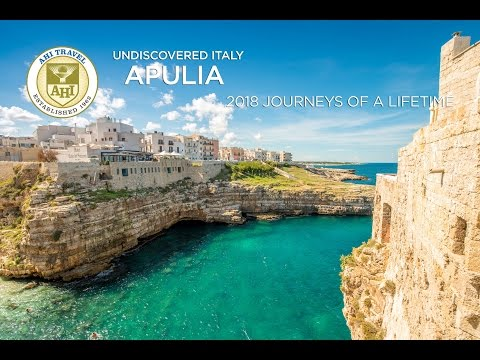 """Apulia, Italy """"Undiscovered Italy"""" with AHI Travel"""