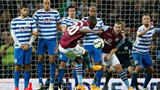 Video Gol Pertandingan Queens Park Rangers vs Aston Villa