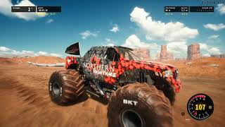 Monster Jam Steel Titans GamePlay PC