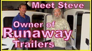 Steve, owner of Runaway Campers