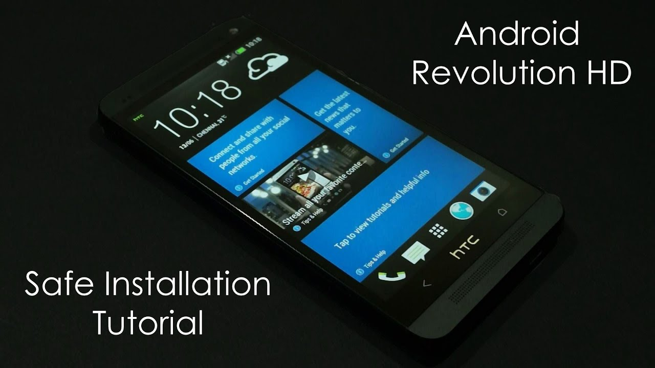 HTC One (M7) - How to Install Android Revolution HD Custom ROM