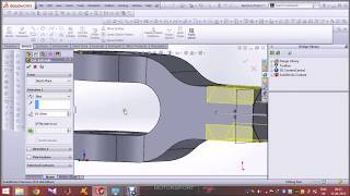 Knuckle joint in solidworks