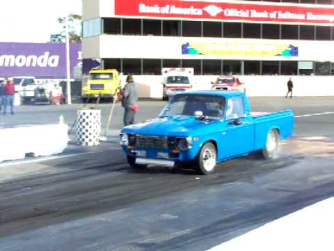 Chevy Luv Burnout