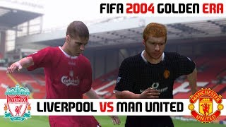 FIFA 2004 / Liverpool vs Manchester United / PC Gameplay HD