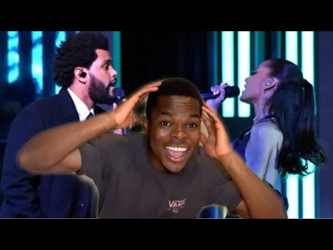 Ariana Grande & The Weeknd - Save Your Tears (Live on The 2021 iHeart Radio Music Awards) REACTION!!