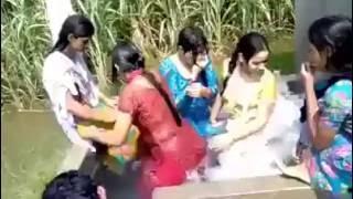 গ্রামের মেয়েদের গোসল - দেখে আপনার কিছু হলে আমি দায়ী নই- hot video-funny video-prank-sexy videos