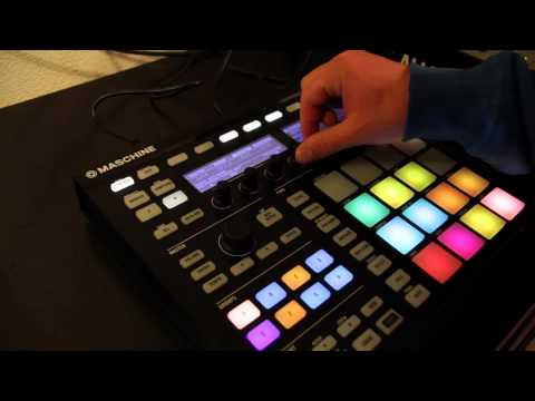 Unboxing Native Instruments MASCHINE MK2 – Lauthals (German)