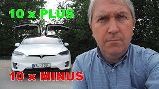 Fazit Tesla Model-X nach einem Jahr, 10x Plus, 10x Minus | Review | DriveTesla 2.0