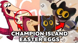 Google Doodle Champion Island Easter Eggs | Character From Previous Games