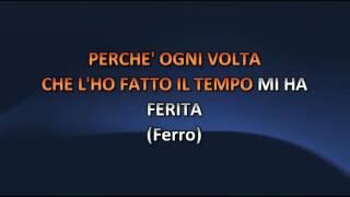 Alessandra Amoroso ft Tiziano Ferro - Difendimi Per Sempre (Video karaoke)