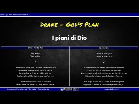 Drake - God's Plan Traduzione Italiano || Inglese con testi paralleli