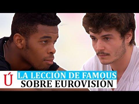 La lección de Famous a Miki de cara a Eurovisión 2019 en Operación Triunfo 2018   OT 2018