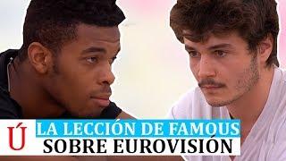 La lección de Famous a Miki de cara a Eurovisión 2019 en Operación Triunfo 2018 | OT 2018