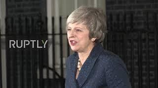 UK: May calls on