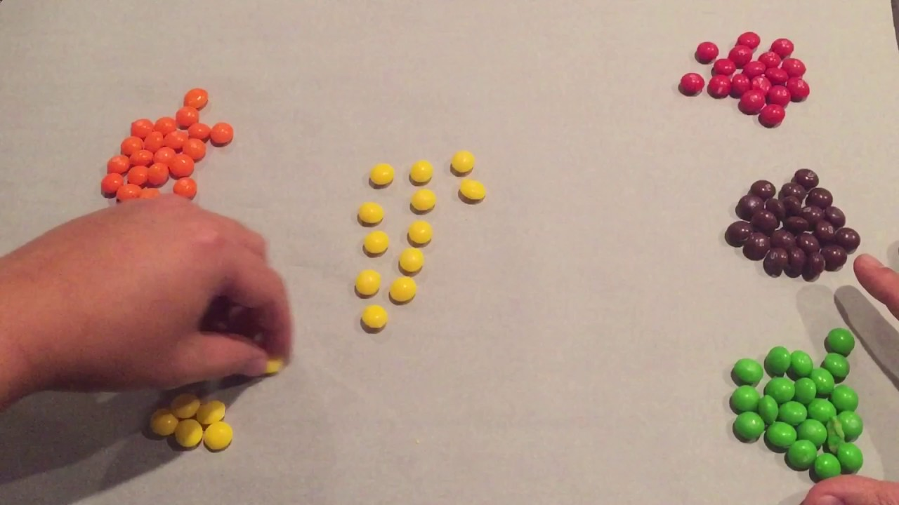 How Many Skittles Are In A 3 5oz Box Youtube