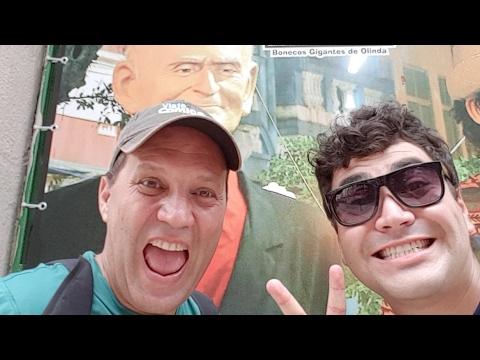 Estamos em Recife — Capital cultural Nordeste!