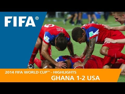 GHANA v USA (1:2) - 2014 FIFA World Cup™
