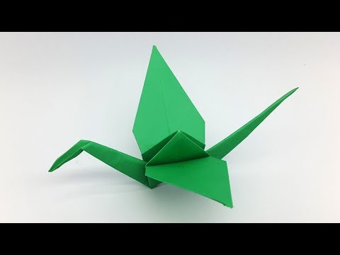 How to make a Paper Crane | Origami Crane (Folding Instructions)